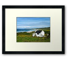 Another angle on Whitepark Bay, Antrim, Northern Ireland Framed Print
