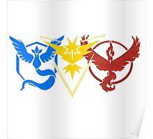 Pokemon Go Teams Poster