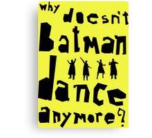 Bat Dance Canvas Print