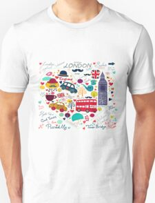 London Romantic Unisex T-Shirt