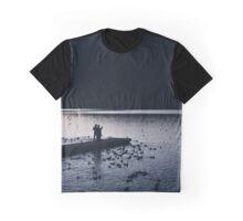 Lake Silhouette  Graphic T-Shirt