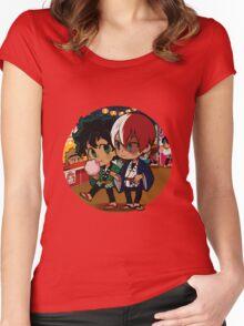 matsuri tododeku Women's Fitted Scoop T-Shirt
