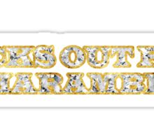 Dicks Out For Harambe Bling Sticker