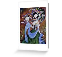 Ukraine Jane Greeting Card