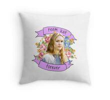 Kat Stratford Throw Pillow