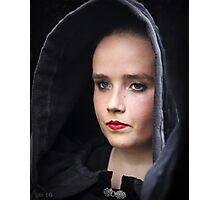 young lady in Brittany Photographic Print