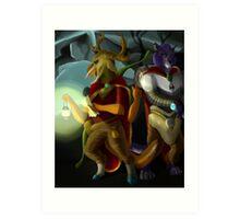 Skyrim Inspired Digital Painting Art Print