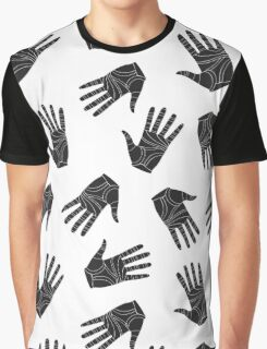 Black graphic arms Graphic T-Shirt