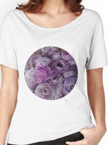 Flowers for Ellie - Purple Women's Relaxed Fit T-Shirt