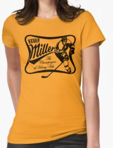 Kevan Miller Time (Bruins) - Fanned Shots Sports Apparel Womens Fitted T-Shirt