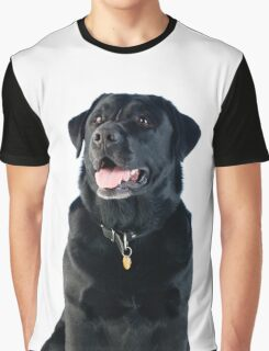 Black Labrador retriever Graphic T-Shirt