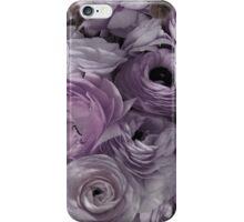 Flowers for Ellie - Pastel Purple iPhone Case/Skin