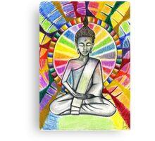 Colourful Buddha Canvas Print