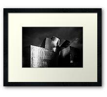Folds Framed Print