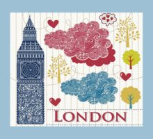 London Romantic 578 Kids Tee