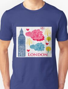 London Romantic 2 Unisex T-Shirt