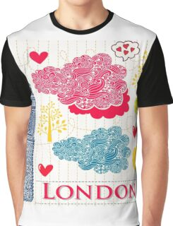 London Romantic 578 Graphic T-Shirt