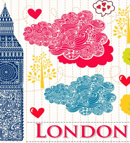 London Romantic 578 Sticker