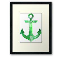 Christian Anchor Framed Print