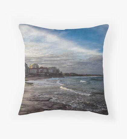 Beach Afternoon Throw Pillow