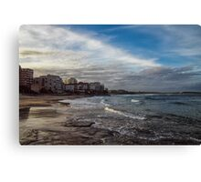 Beach Afternoon Canvas Print
