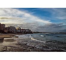 Beach Afternoon Photographic Print