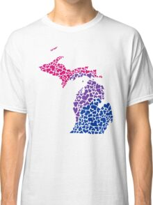 michigan biHearts Classic T-Shirt