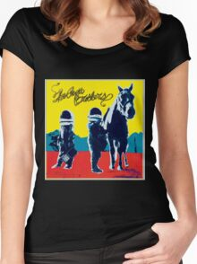 new album true madness the avett brothers tour 2016 genico Women's Fitted Scoop T-Shirt