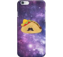 A Gentleman Mexican Galactic Taco iPhone Case/Skin