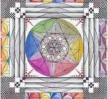 The Next Dimension  by Francesca Love Artist