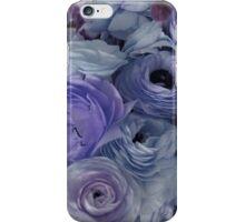 Flowers for Ellie - Pastel Blue iPhone Case/Skin