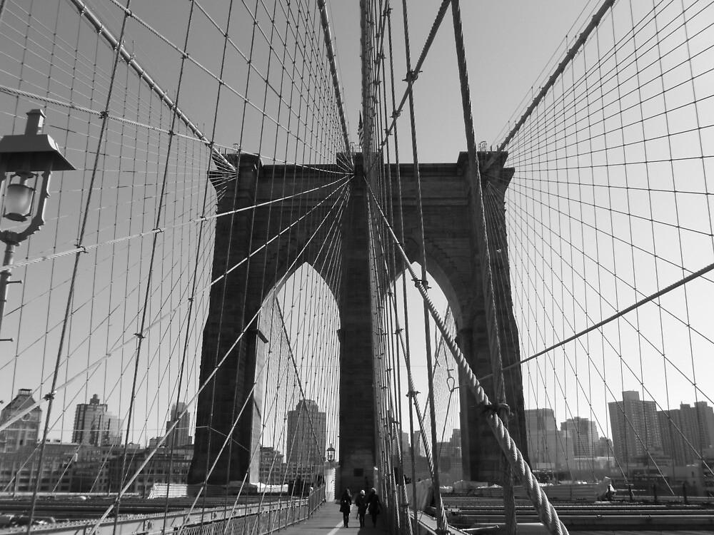Brooklyn Bridge: Wire by Sohvi