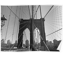 Brooklyn Bridge: Wire Poster