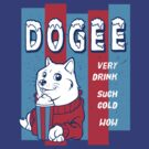 DOGEE - VERY DRINK, SUCH COLD, WOW by Tabner