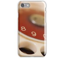 dial up iPhone Case/Skin
