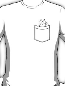 Cat in a pocket T-Shirt