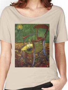 Chair still life by Vincent Van Gogh Women's Relaxed Fit T-Shirt