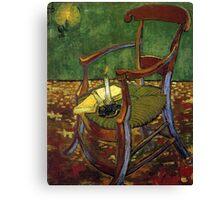 Chair still life by Vincent Van Gogh Canvas Print