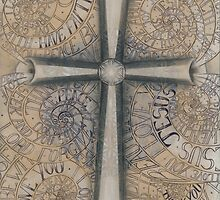 Sacred Cross by Francesca Love Artist