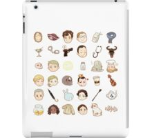 SHERLOCK-ICONS iPad Case/Skin