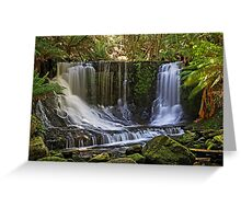 Horseshoe Falls - Tasmania - Australia Greeting Card