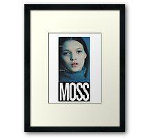 'Moss' Print Framed Print