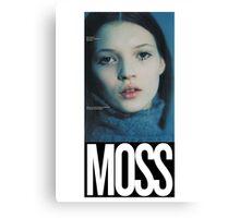 'Moss' Print Canvas Print