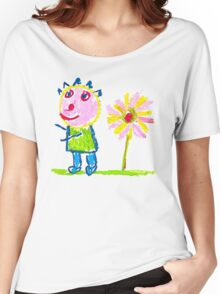 Me And Sun Flower Women's Relaxed Fit T-Shirt