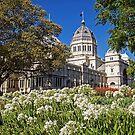 Royal Exhibition Building - Garden View by TonyCrehan