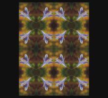 Agapanthus Macro Pattern Kids Tee