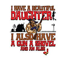 Hillbilly - I Have A Beautiful Daughter Light Variant Photographic Print