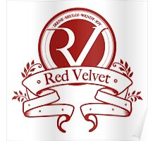 Red Velvet RV Seal Logo K-pop T-Shirt  Poster