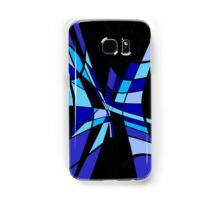 Blue abstraction Samsung Galaxy Case/Skin