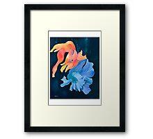 Fighter Fish Framed Print